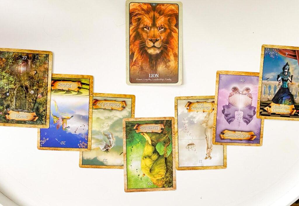 Rol van spiritualiteit bij mijn persoonlijke ontwikkeling kaart legging.