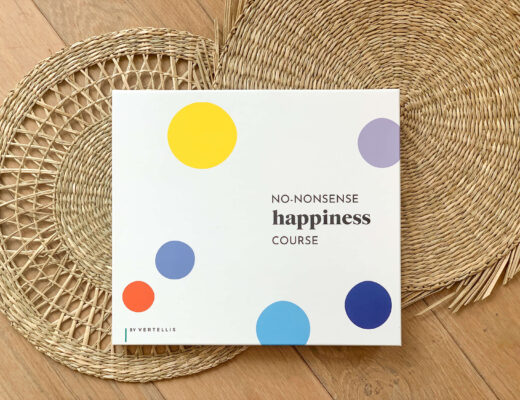 no-nonsense happiness course van Vertellis