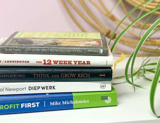 Mijn top 6 business boeken voor deze Kerstvakantie