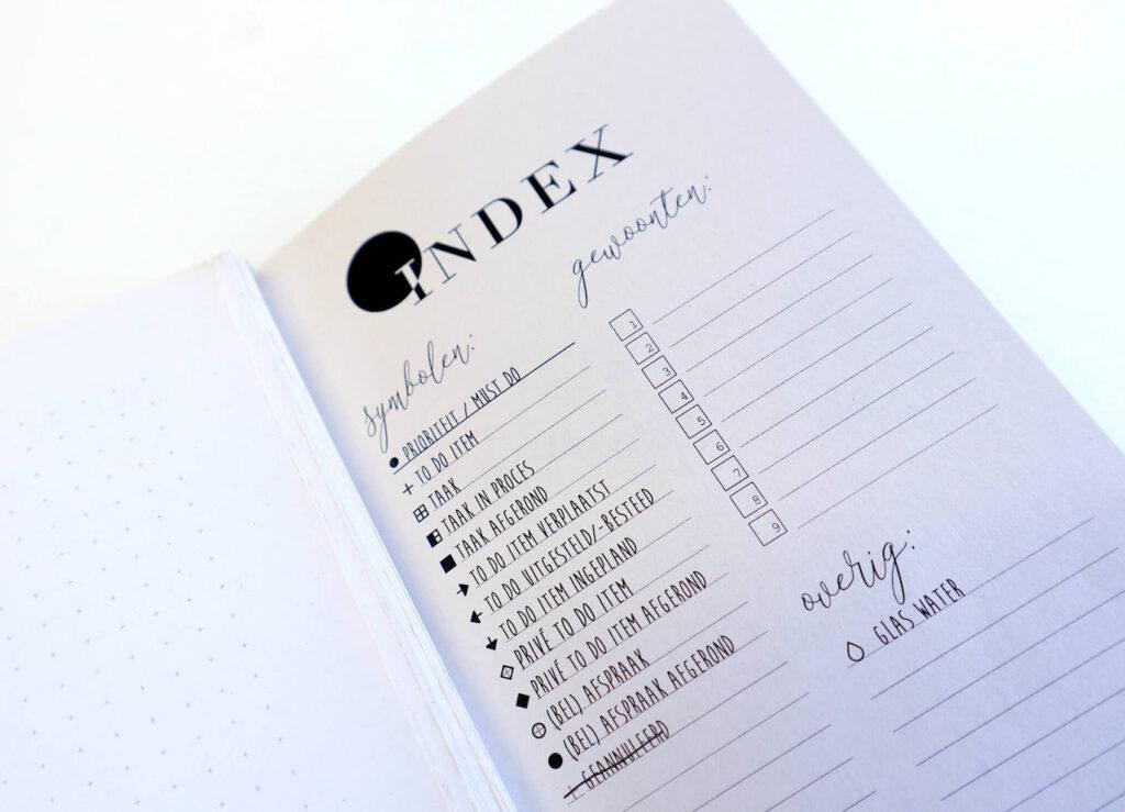 Symbolen gebruiken in je planner of bullet journal