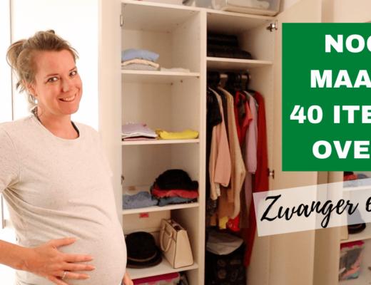 Capsule wardrobe maken: zwangerschapseditie